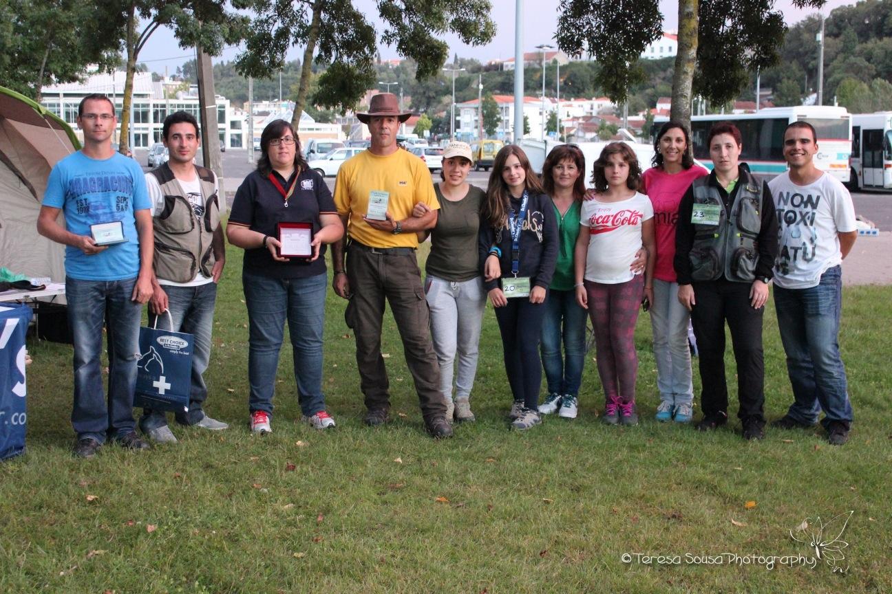 A Equipa Canisport com Juiza Teresa Vasconselos e Comissario Arménio Cunha