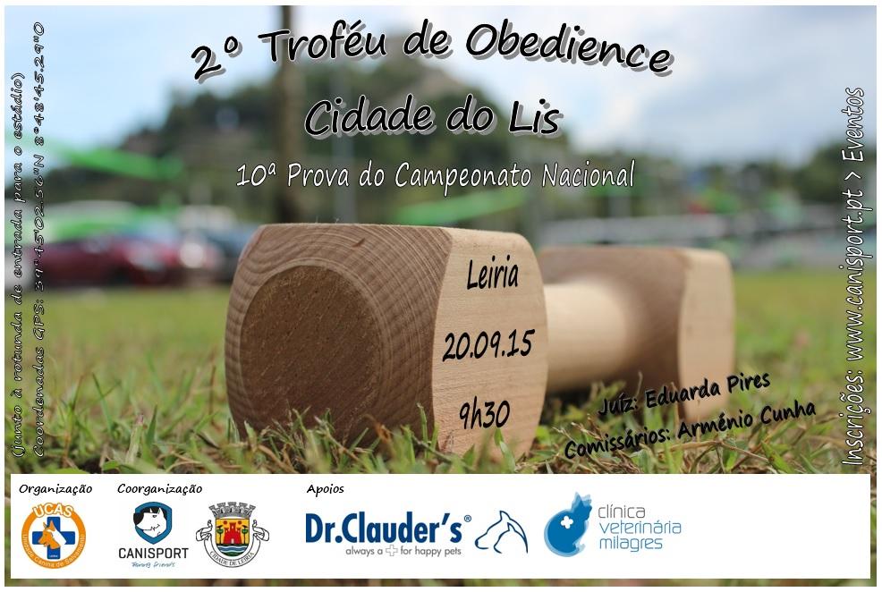 2º Troféu de Obedience Cidade do Lis